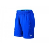 "Wilson LATE SUMMER PERF STRETCH WOVEN 8"" SHORT - Velikost XL"