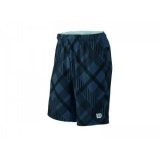 "Wilson STRETCH WOVEN 9"" PLAID SHORT"