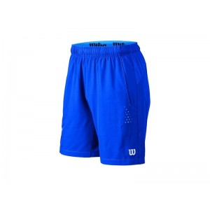 "Wilson LATE SUMMER PERF STRETCH WOVEN 8"" SHORT"