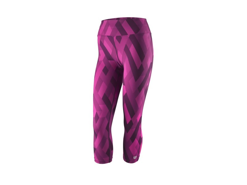 W PRINTED TIGHT Berry
